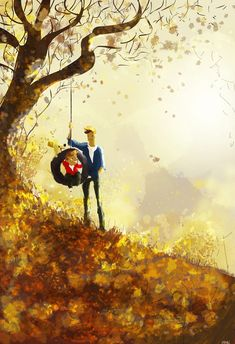 Up on the hill. by PascalCampion.deviantart.com on @deviantART