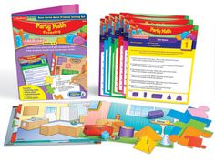 Party Math - Geometry Problem Solving Kit at Lakeshore Learning