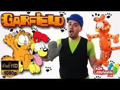 Garfield Balloon Art - Palloncino Garfield - Puntata Palloncini 142 - Feste compleanni - YouTube Garfield balloon tutorial, how to twist garfield the cat with balloons. Palloncino Garfiel scultura con palloncini modellabili.