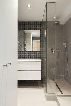 Petite salle de bain, douche à l\'italienne | Douche | Pinterest ...