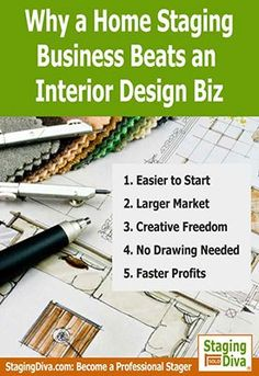 A home staging business beats an interior design business says Staging Diva Debra Gould who shares 5 reasons why, including faster…