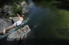 Treska River in Matka Canyon