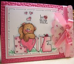 Item #2784 · Cuttlebug · Heart Prints