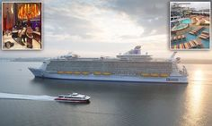 MailOnline Travel takes a first look inside Harmony of the Seas - yeah but is this the ugliest cruise liner ever?