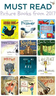Must read picture books from 2017