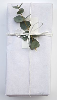 white twine and eucalyptus, by simpleblueprint