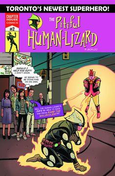 Review: The Pitiful Human-Lizard #2