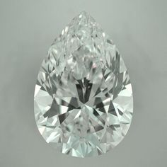 GIA Certified Ideal Cut Pear Shape Diamond - Perfect for a Halo Pear Shape Engagement Ring