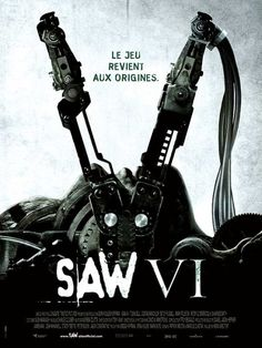 Saw VI , starring Tobin Bell, Costas Mandylor, Mark Rolston, Betsy Russell. Agent Strahm is dead and framed while Hoffman continues John's legacy while Jill carries out John's final request. All Movies, Movies 2019, Scary Movies, Latest Movies, Movies Online, Movies And Tv Shows, Movie Tv, Awesome Movies, Movies Free