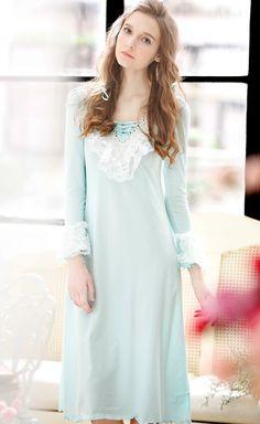 181de144de Lingerie   Nightwear. Classy Outfits For WomenVintage NightgownSleepwear  WomenWardrobe IdeasWomen s Fashion DressesNight GownNightwearLight ...