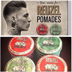 We are now carrying #Reuzel our newest #pomade line! Pick yours up at an #188 location! #Eighteeneight #barbershop #reinvented #barbers #hairstyle #mensstyle #youretheman