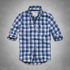 Mens Gilligan Mountain Shirt | Mens Shirts | Abercrombie.com