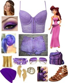 """""""Punk Rock Megara Outfit"""" by casey-carpenter on Polyvore"""