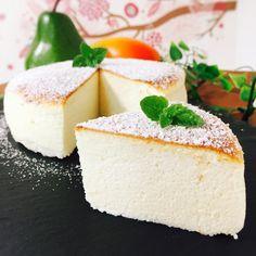 娘のリクで♡また作ったヨーグルトスフレケーキ(*´ο`*) | なんなんさんのお料理