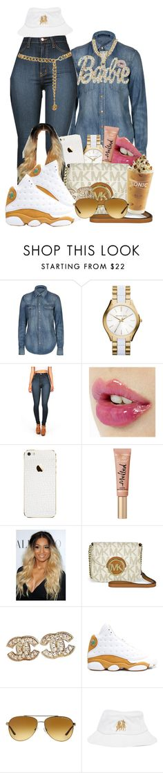 """""""We both graduated so fvck keepin it classy """""""" J.cole"""" by loyalartist607 ❤ liked on Polyvore featuring Polo Ralph Lauren, Michael Kors, Chanel, Retrò, Breezy Excursion and Nicki Minaj"""
