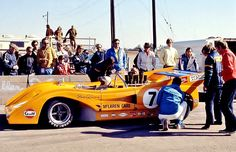 Peter Revson 1971 M8F Riverside, Ca . .Can Am Champion