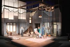 Paradise Lost. Intiman Theatre. Scenic design by Tom Buderwitz.