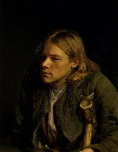 'De gebochelde', 1881 / Ilja Repin (1844-1930) / Tretjakovgalerij, Moskou, Rusland.