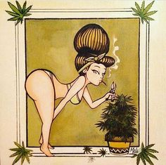Cannabis Couture and Smoke Boutique. Weed leaf fashion and girly pipes. Weed jewelry and other smoking accessories for girls who smoke! Arte Dope, Dope Art, Marijuana Art, Weed Art, Stoner Art, Weed Humor, Cartoon Art, Mary Janes, Art Drawings