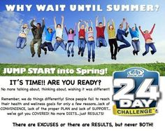 Jump Into Spring 24-Day Challenge