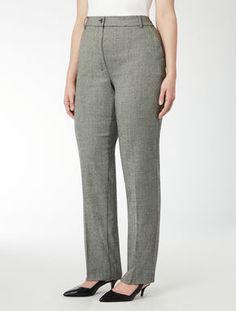 Pantalone classico in flanella