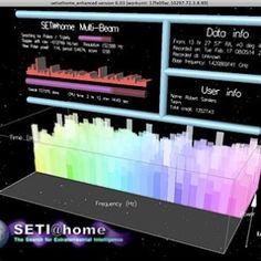"""Imagem 13/13: Em 1999, a Universidade de Berkeley lançou o projeto """"Seti@home"""" (Seti em casa): os dados captados por telescópios instalados em Porto Rico são divididos em pacotes e enviados via internet para computadores de voluntários.Estima-se que mais de 1 milhão de usuários participem do Seti@home, dos quais 12 mil estão no Brasil"""