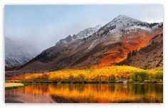 Apple Mac OS X High Sierra wallpaper