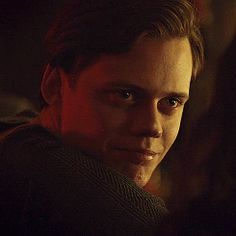 """I feel my heart rate increase as he moves closer to me, a tender smile on those full lips that look so kissable. """"You are so beautiful,"""" he says softly. """"Has anyone ever told you that? Bill Skarsgard Pennywise, Skarsgard Family, Roman Godfrey, Hemlock Grove, Daddy Issues, Romance, Wattpad, Cute Guys, Pretty Boys"""
