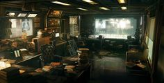 Deus Ex 3 [( Science-fiction, dystopia, future noir, Blade Runner, cyberpunk, night skylines, dark city, Metropolis )]