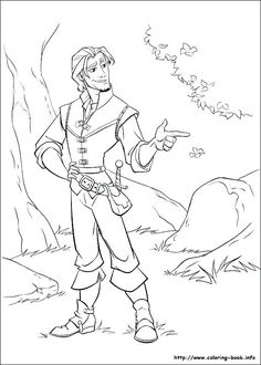 tangled baby rapunzel coloring page car interior design.html
