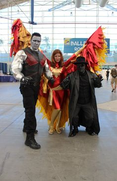 Colossus and the Phoenix Cosplay Costume