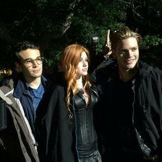 Simon, Clary and Jace xx