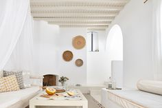 Agnandi Mykonos Homes & Studios Suites - Gallery Agnandi Mykonos Villas, Mykonos Greece, Santorini, Ibiza Stil, Myconos, Interior And Exterior, Interior Design, Greek House, Dream Beach Houses
