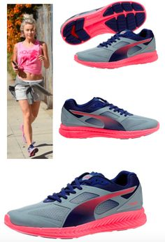 Anything but boring - Colorful Sneakers - celebritybargainbuys -  Julianne Hough in PUMA Ignite colorful sneakers from $100