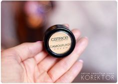 Alina Rose Makeup Blog: Mocno kryjący korektor w dobrej cenie: Catrice, Camouflage Cream.