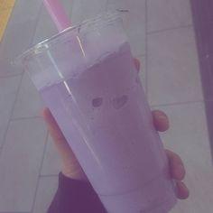 "185 Likes, 4 Comments - Bubble Tea Supply (@bubbleteasupply) on Instagram: ""#Repost @cigarettesandskin pinky purples . . . #aesthetic #princess #purple #pale #bubbletea #bbt…"""