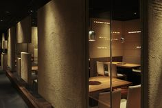 hashimoto yukio design studio Japanese Architecture, Animation, Restaurant, Studio, Furniture, Design, Home Decor, Decoration Home, Room Decor