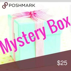 Mystery box You will not be disappointed, my first ever mystery box Check my love notes for reference!  Box is worth well over $25  Will include name brand items!!  Jewelry, accessories,  makeup etc Accessories