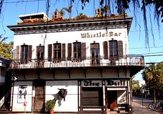 the famous Bull & Whistle Stop