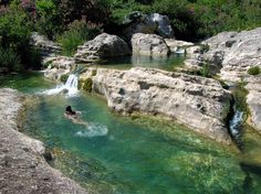 Cava Grande del Cassibile - Sicily - hard to find but an amazing place to swim