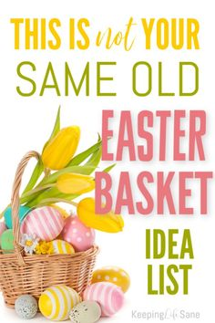 Over 50 Easy Easter Basket Ideas Are you looking for some new easy Easter basket ideas? Here are some good ones for both boys and girls. Plus nothing on the list is candy! The post Over 50 Easy Easter Basket Ideas appeared first on Urlaub. Easter Dinner, Easter Table, Easter Party, Easter Eggs, Easter Decor, Easter Centerpiece, Hoppy Easter, Easter Crafts For Kids, Easter Stuff