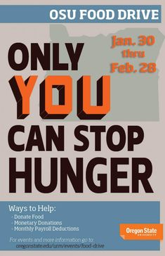 College of Education Food Drive