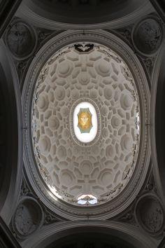 San Carlo degli quatto fontane. Borromini. Roma