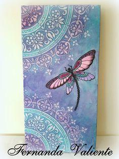 Mandala Art, Mandala Painting, Dot Painting, Fabric Painting, Butterfly Painting, Stencil Decor, Stencil Art, Dragonfly Wall Art, Pottery Painting Designs