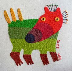 New Textile Works by Ivan Semesyuk