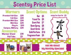 To place an order visit http://www.ashmakesperfectscents.scentsy.us           LIKE my facebook page Ash Makes Perfect Scents