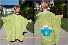 Going to make this to use up ugly towels! Great gift idea