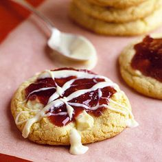 White Chocolate Raspberry Cookies - for @Vanji Kelsey's house this weekend. my friend Dorothy made them for a party we had and they were AMAZING!