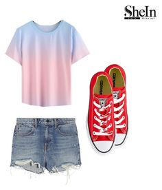 """""""RO"""" by lady-shadylady ❤ liked on Polyvore featuring Alexander Wang and Converse"""