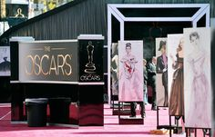 85th annual #Oscars awards #redcarpet arrivals drawings from the Stars